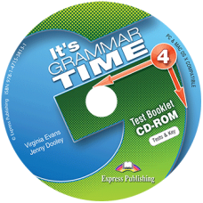 It's Grammar Time 4 - Test Booklet CD-ROM