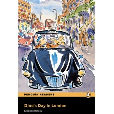 Penguin Readers Easystarts: Dino's Day in London with Cd