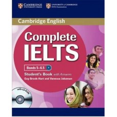 Complete IELTS Bands 5-6.5 Student's Pack (Student's Book with answers with CD-ROM and Class Audio CDs (2))