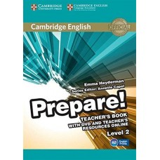 Prepare! Level 2 Teacher's Book with DVD and Teacher's Resources Online