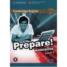 Prepare! Level 3 Workbook with Audio