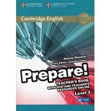Prepare! Level 3 Teacher's Book with DVD and Teacher's Resources Online
