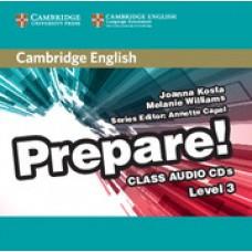 Prepare! Level 3 Class Audio CDs (2)