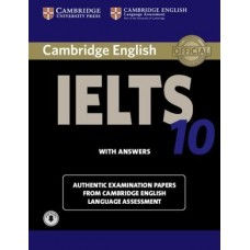 Cambridge English IELTS 10 Student's Book with Answers with Audio Authentic Examination Papers from Cambridge English Language Assessment
