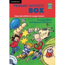 Primary Activity Box Book and Audio CD Games and Activities for Younger Learners