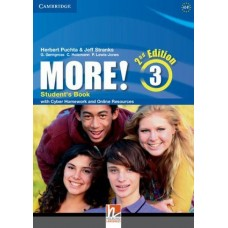 More! 3 Student's Book with Cyber Homework and Online Resources 2nd Edition