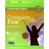 Complete First for Schools Sb Pack ( Student's Book without Answers with Cd-Rom, Workbook without Answers with Audio cd )