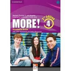 More! 4 Student's Book with Cyber Homework and Online Resources 2nd Edition