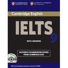 Cambridge English IELTS 9 with answers and audio CD
