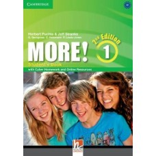 More! 1 Student's Book with Cyber Homework and Online Resources 2nd Edition