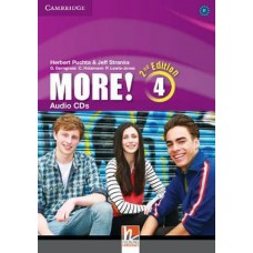 More! 4 Audio CDs (3) 2nd Edition