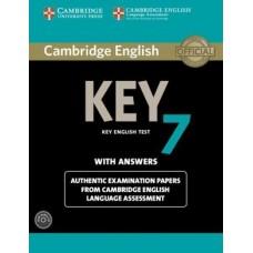 Cambridge Key English Test 7 Pack