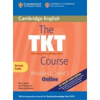 The TKT Course Modules 1, 2 and 3 Online (Trainee Version Access Code Card) 2nd Edition