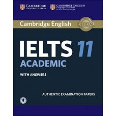 Cambridge English IELTS 11 Academic Student's Book with Answers with Audio Authentic Examination Papers