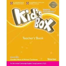 Kid's Box Starter Teacher's Book
