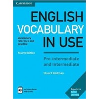 English Vocabulary in Use Pre-Intermediate & Intermediate with eBook and audio
