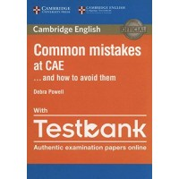Common Mistakes at CAE… and How to Avoid Them Paperback with Testbank