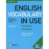 English Vocabulary in Use Advanced with CD-ROM Vocabulary Reference and Practice