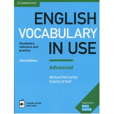 English Vocabulary in Use Advanced with eBook and audio