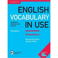 English Vocabulary in Use Elementary with eBook and audio