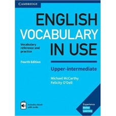 English Vocabulary in Use Upper-Intermediate with eBook and audio