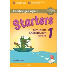 Cambridge English STARTERS 1 Student's Book