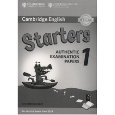 Cambridge English Starters 1 Answer Booklet