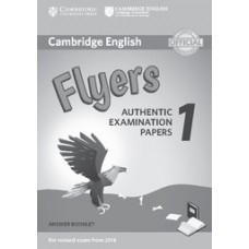 Cambridge English Flyers 1 Answer Booklet