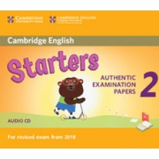 Cambridge English Starters 2 Audio Cd
