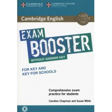 Exam Booster for Key and Key for Schools without Answer Key with Audio Comprehensive Exam Practice for Students