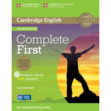 Complete First Certificate Student's Book Pack with Answers,Cd-Rom and Audio Cd