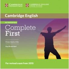 Complete First Certificate Class Audio Cd