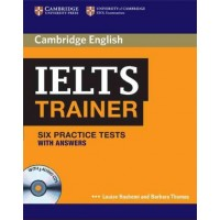 IELTS TRAINER with Answer and audio CD