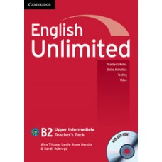English Unlimited Upper-Intermediate B2 Teacher's Book with Dvd-Rom