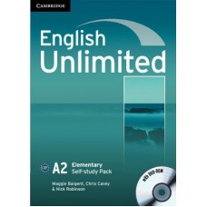 English Unlimited Elementary Self-Study Pack ( Workbook with Dvd-Rom )