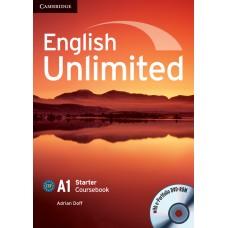 English Unlimited Starter A1 Coursebook with e-Portfolio