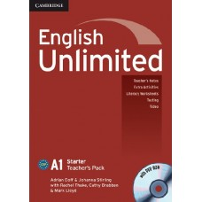 English Unlimited Starter A1 Teacher's Book with Dvd-Rom