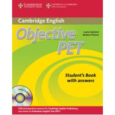 Objective PET Student's Book with Answers and Cd-Rom