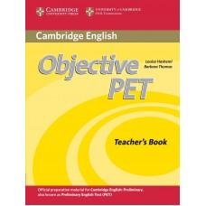 Objective PET Teacher's Book