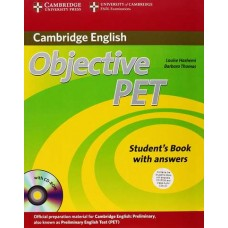 Objective PET Student's Book Pack ( Student's Book with Answers, Cd-Rom and Audio Cds )