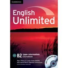 English Unlimited Upper-Intermediate B2 Coursebook with E-Portfolio