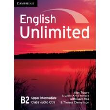 English Unlimited Upper-Intermediate B2 Class Audio Cds