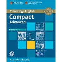 Compact Advanced Workbook with Answers with Audio Cd
