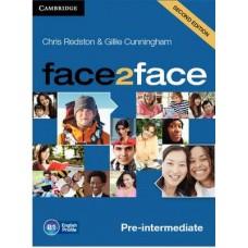 Face2Face Pre-Intermediate Class Audio Cds