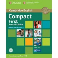 Compact First Student's Book with Answers with Cd-Rom
