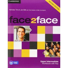 Face2Face Upper-Intermediate Workbook with Answer Key