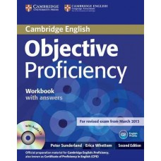 Objective Proficiency Workbook with Answers and Audio Cd