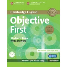 Objective First Student's Book Pack (Student's Book with Answers with Cd-Rom and Audio cds )