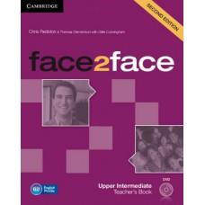 Face2Face Upper-Intermediate Teacher's Book with Dvd