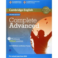 Complete Advanced Workbook without answers and Audio Cd